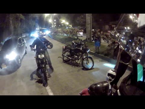 Accidente fuerte con motocicleta FZ yamaha y Peaton