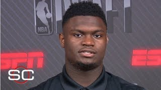 Zion finds comparisons with Jordan, Lebron, Westbrook and Kawhi | SportsCenter | 2019 NBA Draft