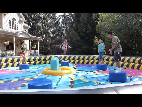 Wipeout Eliminator Inflatable Game Rental in Chicago Illinois