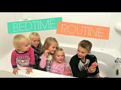 💤CRAZY BEDTIME ROUTINE WITH 5 KIDS💤