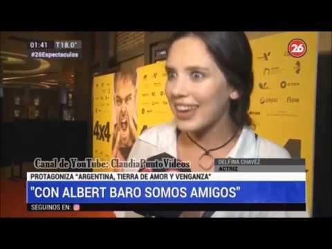 Xxx Mp4 Delfina Cháves Quot Con Albert Baró Somos Muy Amigos Quot Quot Argentina Tierra De Amor Y Venganza Quot ATAV 3gp Sex