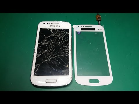 Samsung S7580 Galaxy Trend Plus Galaxy S Duos 2  touchscreen replacement. Замена Touch screen