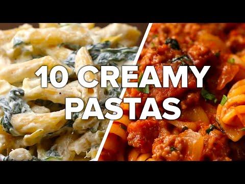10 Creamy & Satisfying Pasta Dishes