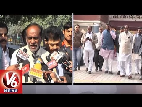 Xxx Mp4 Telangana BJP Leaders Complain To CEC Over Deletion Of Voters EVMs Delhi V6 News 3gp Sex