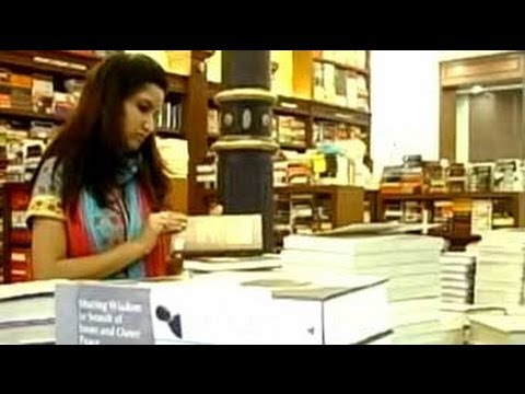 India Insight:  Are book stores dying?