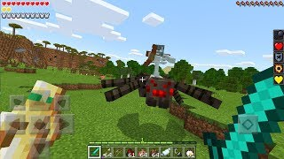 New Mutant Mobs in Minecraft PE 1.2! (Minecraft Bedrock Edition)