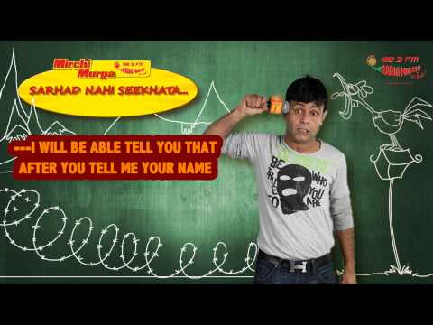 An Indian & a Pakistani teach a lesson in Humanity | Mirchi Murga By RJ Naved