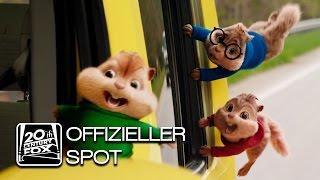 Alvin und die Chipmunks: Road Chip | TV-Spot Land Wasser Luft 5