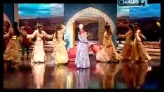 Myriam Fares Singing Moroccan Song With A Wonderful Moroccans Gnawa Dance