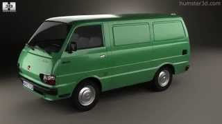 Toyota Hiace Panel Van 1977 by 3D model store Humster3D.com