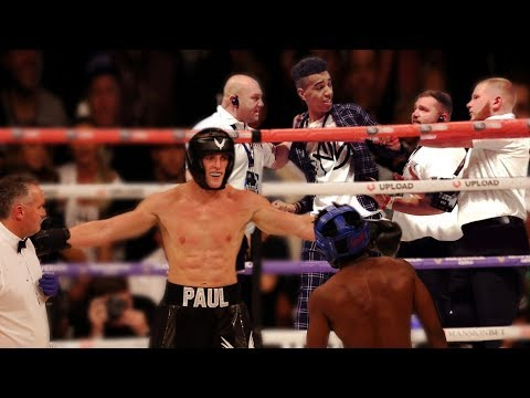 I Got KICKED OUT of the KSI vs Logan Paul Boxing Match I went in the ring