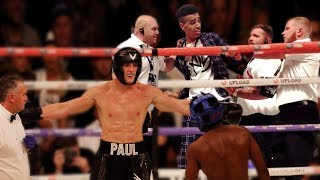 I Got KICKED OUT of the KSI vs Logan Paul Boxing Match (I went in the ring)