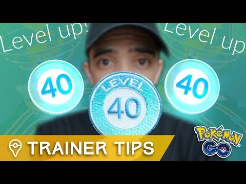I finally hit Level 40 in Pokémon GO