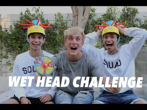WET HEAD CHALLENGE w Jake Paul