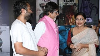 TE3N Movie Promotions | Amitabh Bachchan, Vidya Balan
