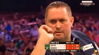 Best Darts Finishes In 2016 - Between WC 2016 And 17 (With Music)