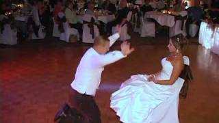 Angela and Jeff- Sexy Garter Removal Dance