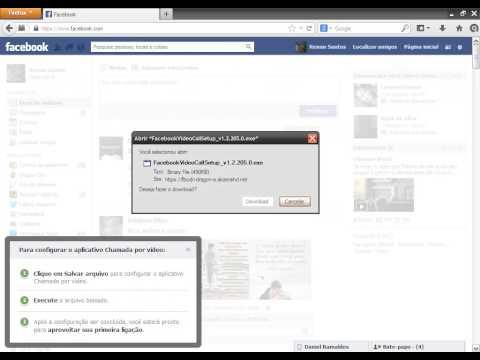 Como Falar Pela Webcam Usando o Facebook