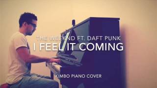 The Weeknd Ft Daft Punk  I Feel It Coming Piano Cover