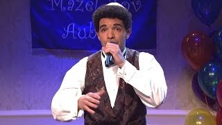Drake Bar Mitzvah Monologue Rap SNL Jokes Kimye, Rihanna