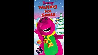 Barney - Waiting For Santa (1998 Lyrick Studios VHS Rip)