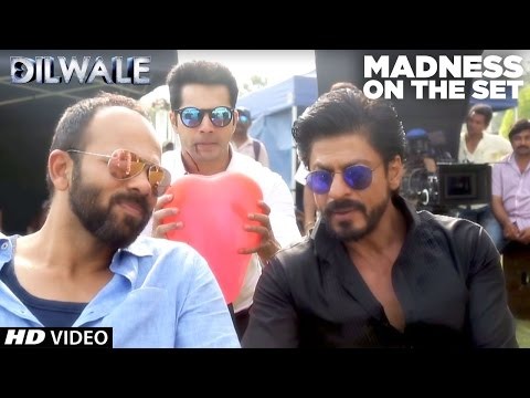 Dilwale | Madness on the set | Kajol, Shah Rukh Khan, Kriti Sanon, Varun Dhawan