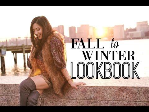 Fall to Winter Fashion Lookbook | MISS YANYI