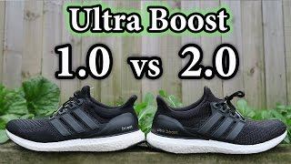 Adidas Ultra Boost 1.0 Vs 2.0 Vs 3.0
