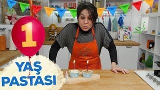 Bir Yaş Pastası Nasıl Yapılır? | Bebek Tatlıları | İki Anne Bir Mutfak