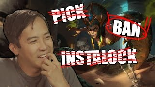 Aurelion Sol/Cassiopeia/Syndra   Pick-Ban-Instalock /ALL Chat [League of Legends]