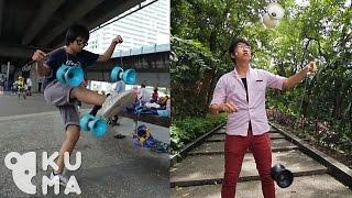 Dynamic Diabolo Duo - Chinese Yo-Yo Tricks