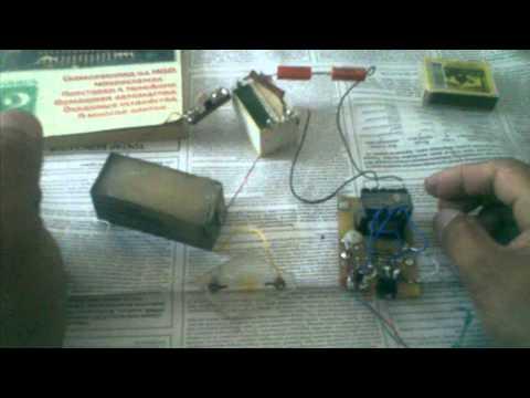 Электрошокер своими руками дома
