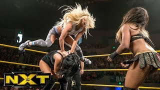Ember Moon vs. Liv Morgan vs. Billie Kay: WWE NXT, Jan. 4, 2017