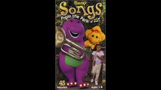 Barney Songs From The Park (2003 VHS Rip)
