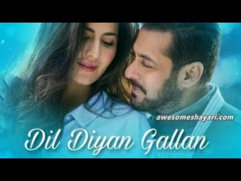 Dil diyan gallan song/दिल दिया गलिया  Tiger Zinda Hai Salman Khan /Superfast Comedy