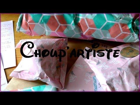 Choup'artiste - Un swap tout rose et tout doux ♥♥♥