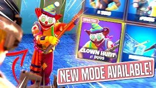 *NEW GAMEMODE* CLOWN HUNT Custom Gamemode in *SEASON 6* Fortnite Battle Royal! (NITE NITE CLOWN!)