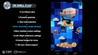 TSF SHELL V1.6.0 HD Introduces Video