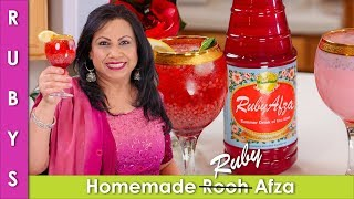 Rooh Awza Homemade Recipe Sharbat Recipe in Urdu Hindi - RKK