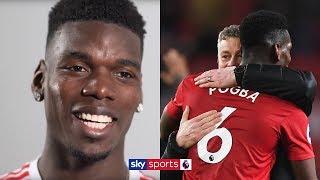 """When I'm happy, I play better!""   Paul Pogba on Man Utd dressing room & Ole Gunnar Solskjær"