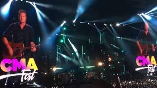 Blake Shelton - Every Time I Hear That Song - CMA Fest 2017