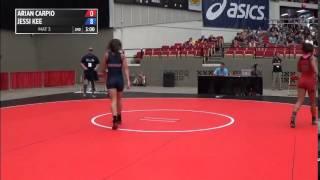 60kg c, Jessi Kee, King vs Arian Carpio, Sunkist Kids