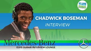 How Chadwick Boseman Got His Role in