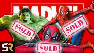 The 10 Biggest Superheroes Marvel Lost Their Rights To