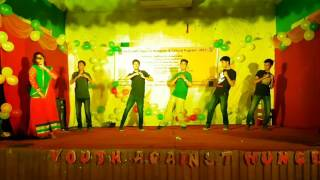 Group Dance(35th)||Freshers Reception & Cultural Program 2017 ||Youth Against Hunger ILET, DU.