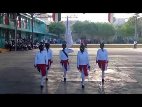 Concurso de escoltas primaria quetzalcoatl 2014