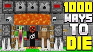 1,000 WAYS TO DIE IN MINECRAFT! (FT. PrestonPlayz, UnspeakableGaming, & 09Sharkboy)