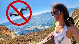 CRASHED MY DRONE! 😭