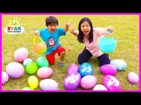 Xxx Mp4 Huge Easter Egg Hunt Surprise Toys For Kids Outdoor Fun With Ryan ToysReview 3gp Sex