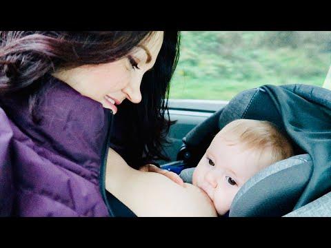 Breastfeeding In The Car